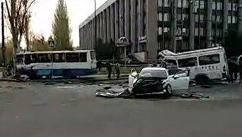Столкновение маршрутки и автобуса в Кривом Роге: погибли 7 человек