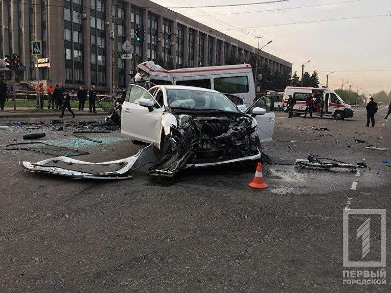 Масштабная авария в Кривом Роге: погибли 7 человек
