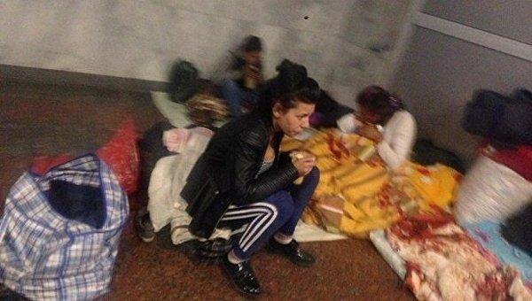 Киевляне жалуются на цыган на железнодорожном вокзале