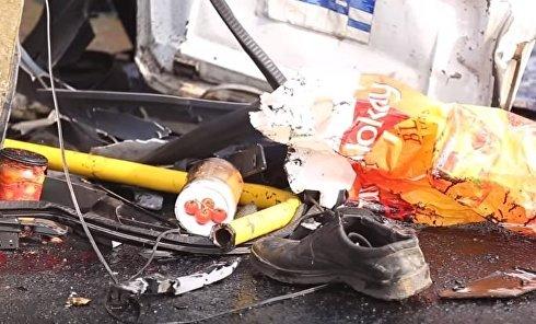 Опубликовано новое видео с места аварии в Кривом Роге. Видео
