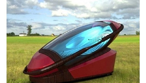 В Голландии показали, как будет выглядеть машина для самоубийств