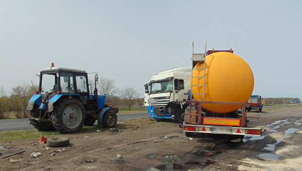 На месте ДТП в Черкасской области