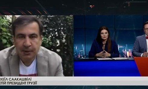 Михаил Саакашвили о церковной инициативе Петра Порошенко. Видео