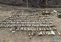 Схрон артиллерийских снарядов