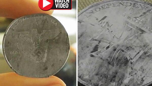 В Мексике нашли монету нацистов из будущего