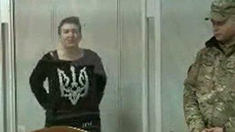 Надежда Савченко в суде прокомментировала намерения следователей взять у нее биологические образцы