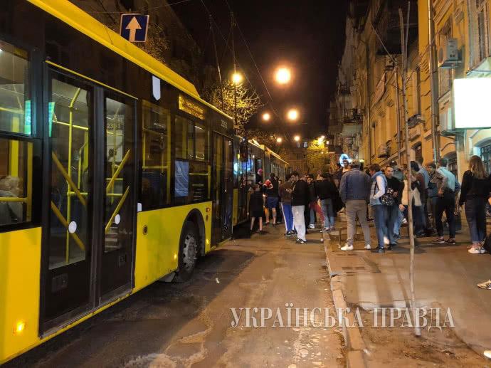 Вцентре Киева произошла массовая драка
