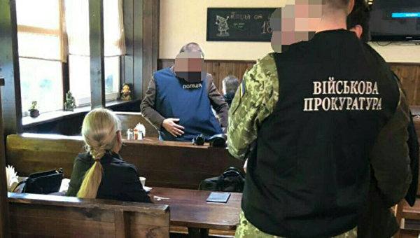ВЗапорожье военная телефонистка попалась навзятке
