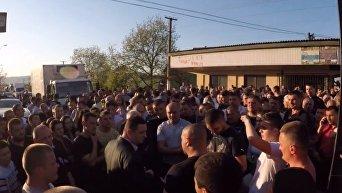 Волнения в Закарпатье из-за выхода из-под ареста обвиняемого в убийстве