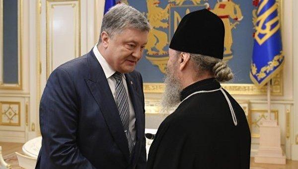 Порошенко провел встречи с предстоятелями православных церквей Украины