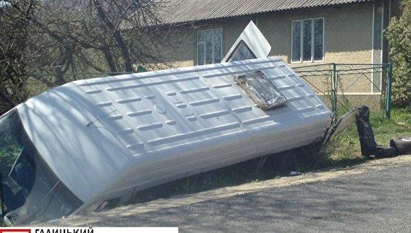 На месте ДТП в Ивано-Франковской области