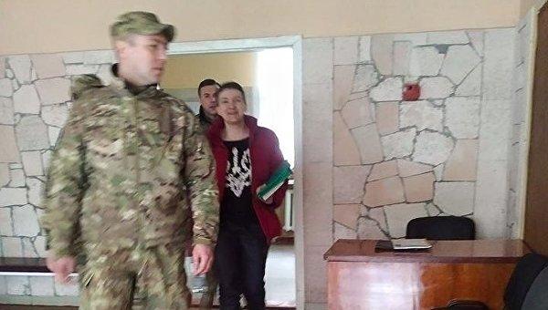 Надежда Савченко на экспертизе