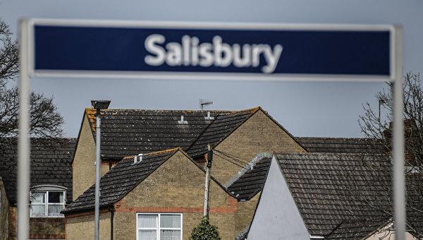 Город Солсбери в Великобритании, где были отравлены С. Скрипаль и его дочь