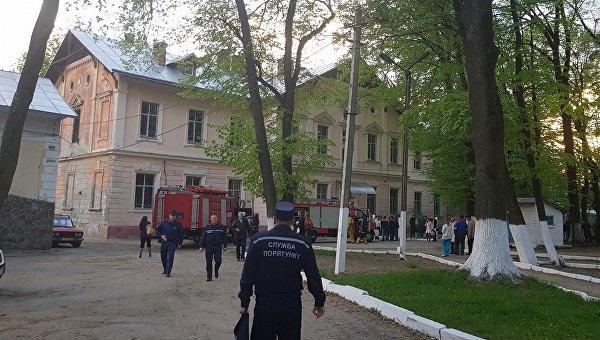 Мэр Черновцов сообщил о пожаре в психбольнице