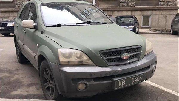 Внедорожник со специальными номерами, на котором ездит народный депутат Михаил Гаврилюк