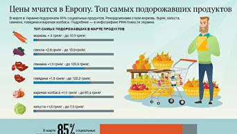 Цены мчатся в Европу: рейтинг самых подорожавших продуктов в Украине