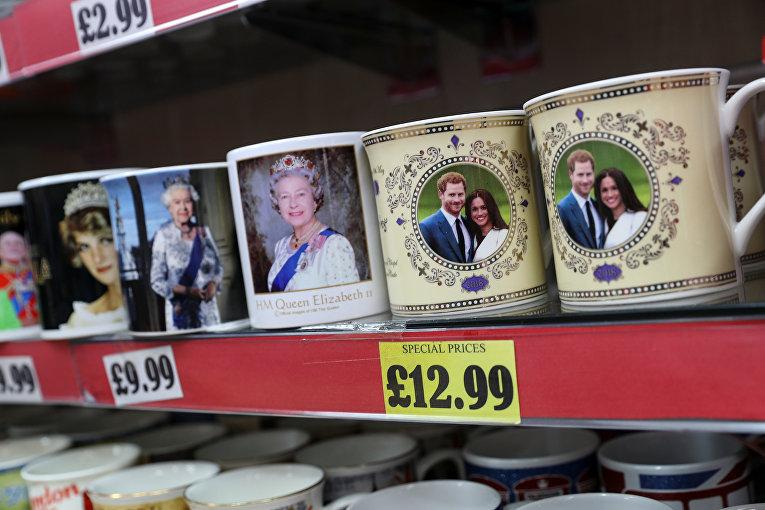 Британия готовится к свадьбе принца Гарри и Меган Маркл