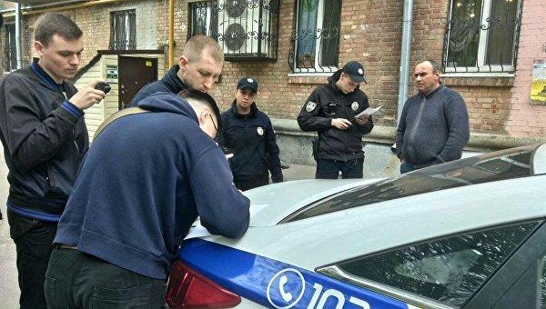 Рейд националистов по киевским таксистам