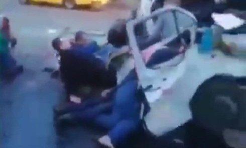 Первые минуты после аварии в Кривом Роге
