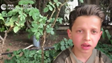 Раненый мальчик из Сирии сообщил, как снимали ролик о химатаке. Видео