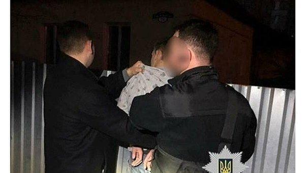 Задержание на взятке полицейских