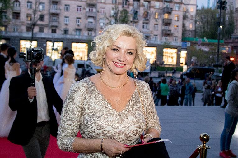 Красная дорожка Венского бала в Киеве