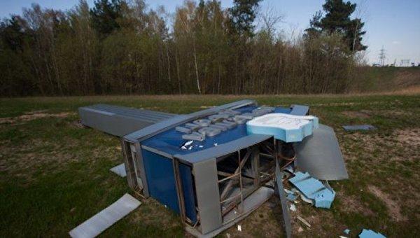 Последствия сильного урагана в Белоруссии