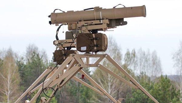 Модифицированный противотанковый управляемый комплекс Скиф