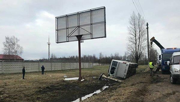 В России автобус с паломниками попал в смертельное ДТП