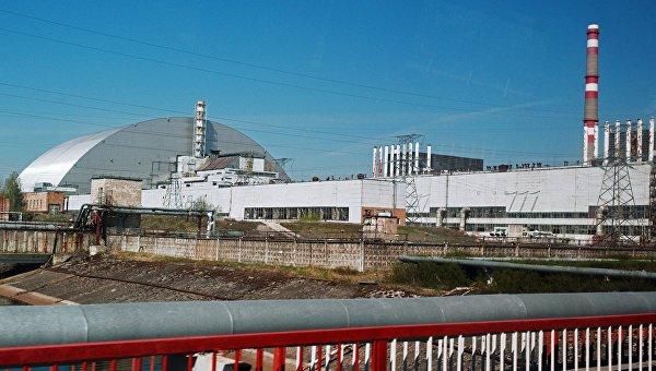 Чернобыльская атомная электростанция