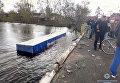 Смертельное ДТП в Черниговской области. Фура рухнула с моста в реку