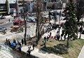 Микроавтобус въехал в толпу людей в Торонто