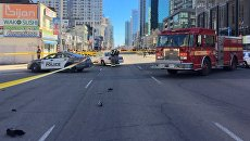 Наезд на пешеходов в Торонто