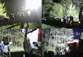 На месте работы ГСЧС по эвакуации автомобиля из воды в Винницкой области