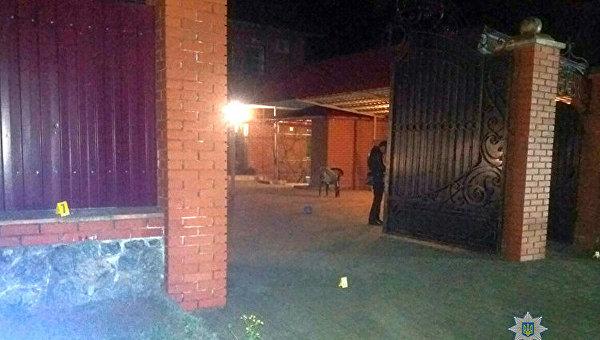 Взрыв в Запорожской области у жилого дома, 23 апреля 2018