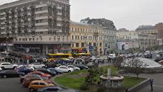 В Киеве прошел марш памяти ликвидаторов Чернобыльской трагедии. Видео