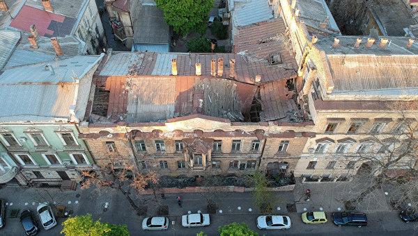 В Одессе разрушается дом, в котором Гоголь писал второй том Мертвых душ