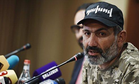 Пресс-конференция Н. Пашиняна в Ереване