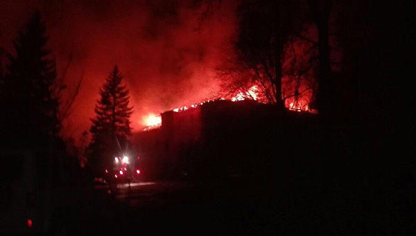 Пожар на шахте Куйбышевская в Донецке