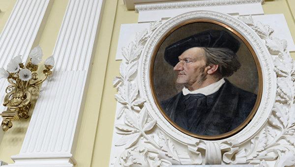 Портрет композитора Рихарда Вагнера