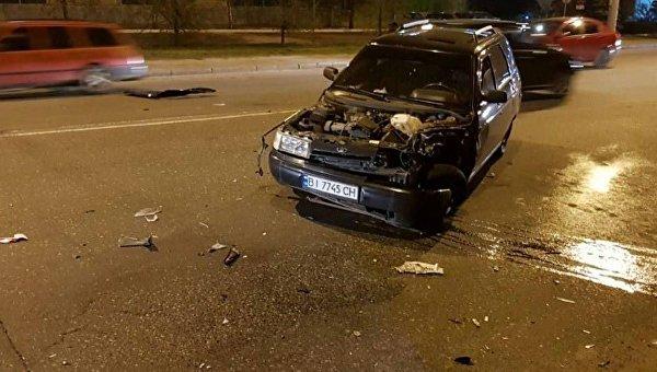 В Полтаве при столкновении авто с мотоциклом погибли два человека