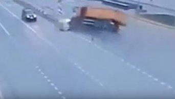 Смертельное ДТП на рязанском проспекте в Москве. Видео