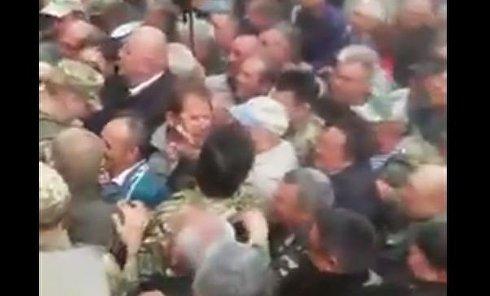 Военные пенсионеры пошли штурмом на Кабмин