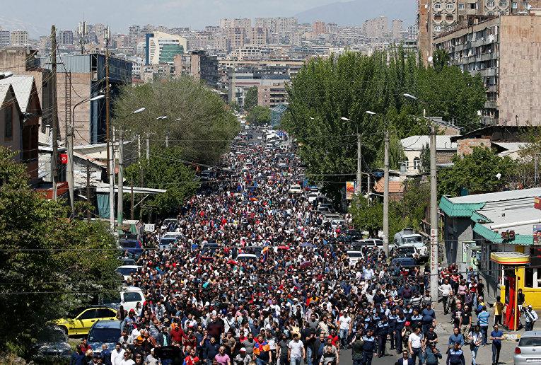 Ситуация в Ереване