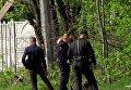 На месте обнаружения женских конечностей в Днепропетровской области