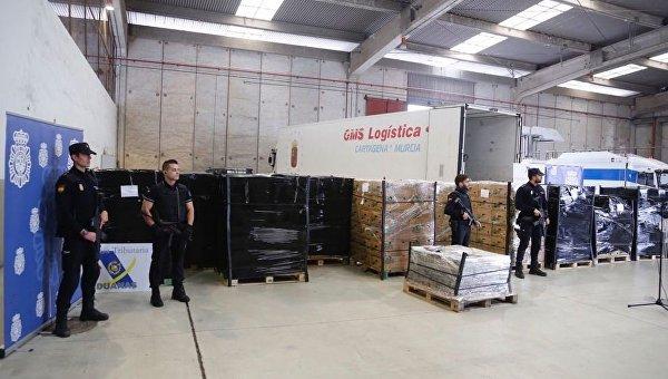 В Испании изъяли рекордную партию кокаина, спрятанную в бананах