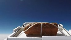 Видеоблогер решил отправить булку с чесноком в космос