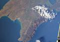Космонавт показал фото Крымского моста с борта МКС