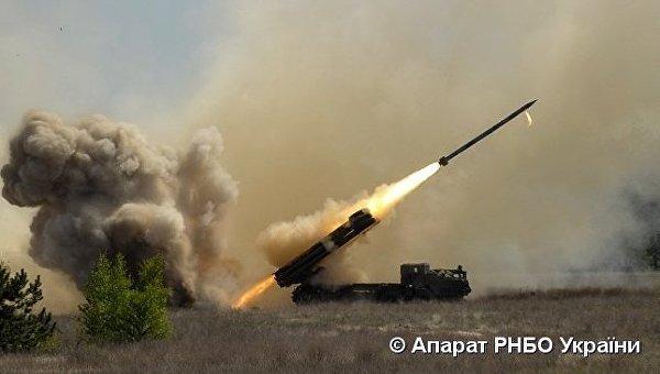 Испытания ракетного комплекса Ольха