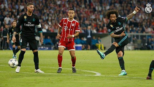 Матч Лиги чемпионов Бавария - Реал